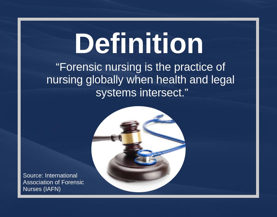 Rn To Forensic Nurse Forensic Nursing Guide Aspen University