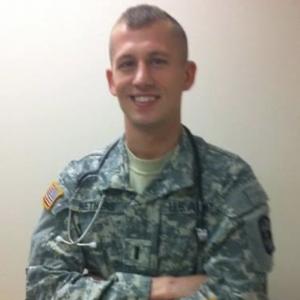 Zachary Nethers in military uniform